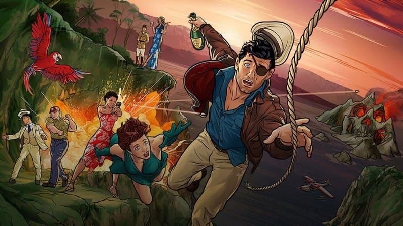 Постер Арчер 11 сезон 8 серия