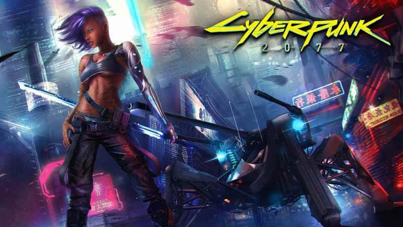 Постер Cyberpunk / Киберпанк 2077