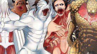 Постер Все Титаны Оборотни - Атака Титанов 4 сезон (Новые титаны - 135 Глава)