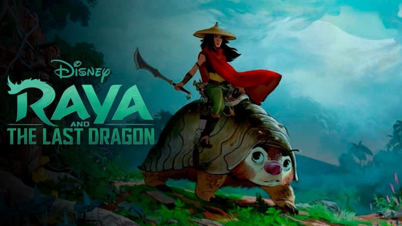 Постер Райя и последний дракон