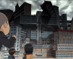 Атака титанов средней школы 1 сезон 12 серия