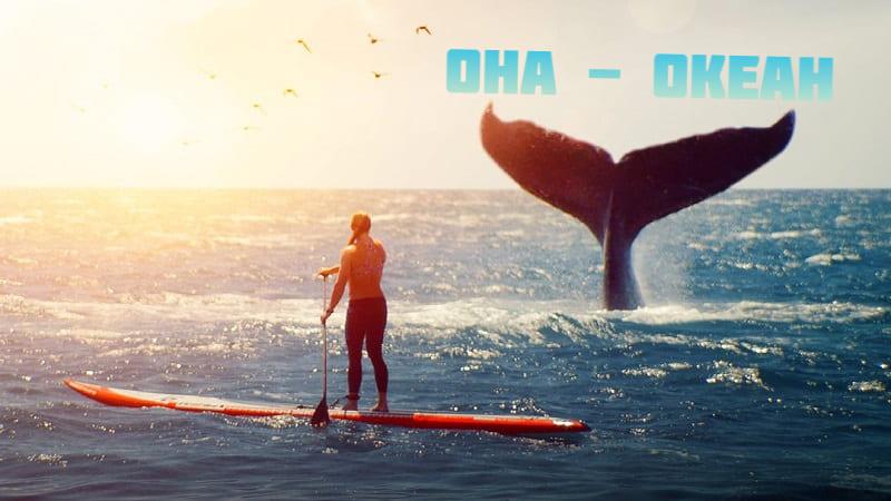 Постер Она — океан