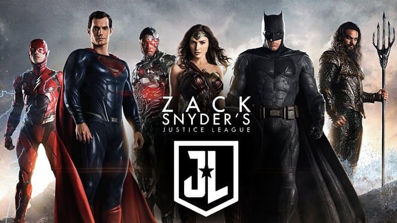 Постер Лига справедливости Зака Снайдера