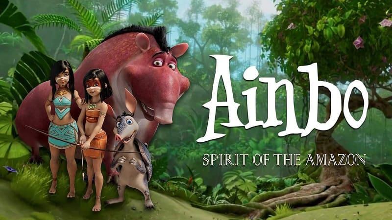 Постер Айнбо. Сердце Амазонии