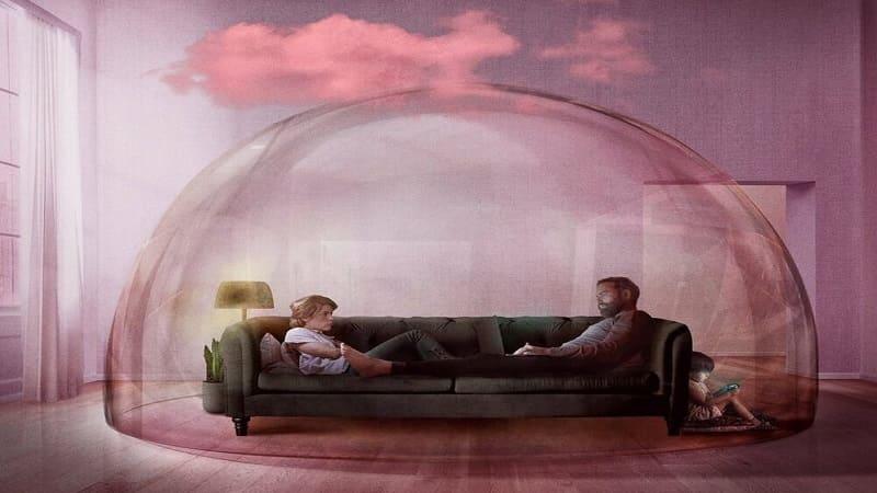 Постер Розовое облако