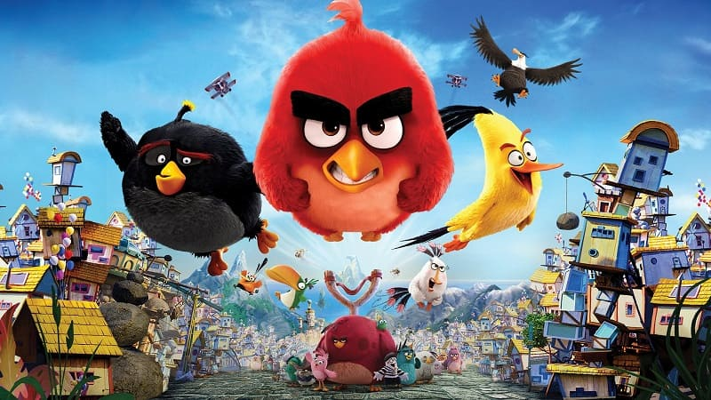 Постер Angry Birds 1 в кино