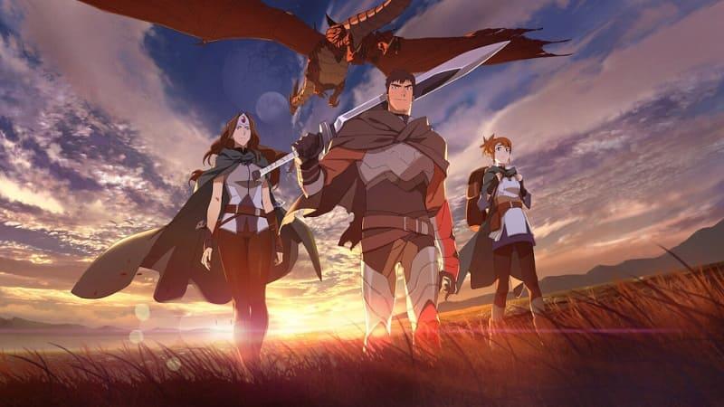 Постер DOTA: Кровь дракона 1 сезон 8 серия