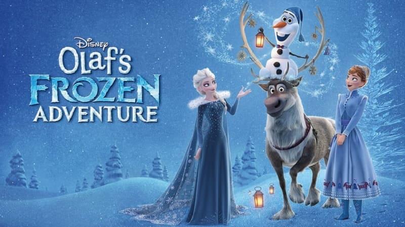 Постер Олаф и холодное приключение