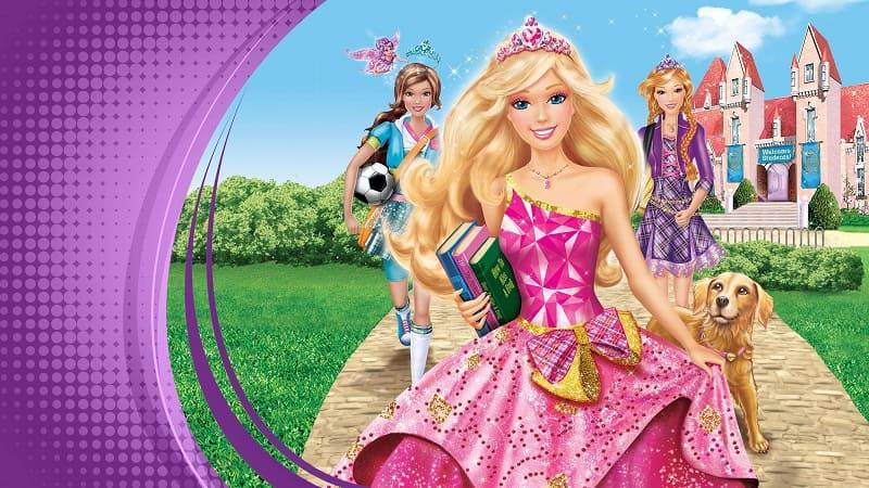 Постер Барби: Академия принцесс