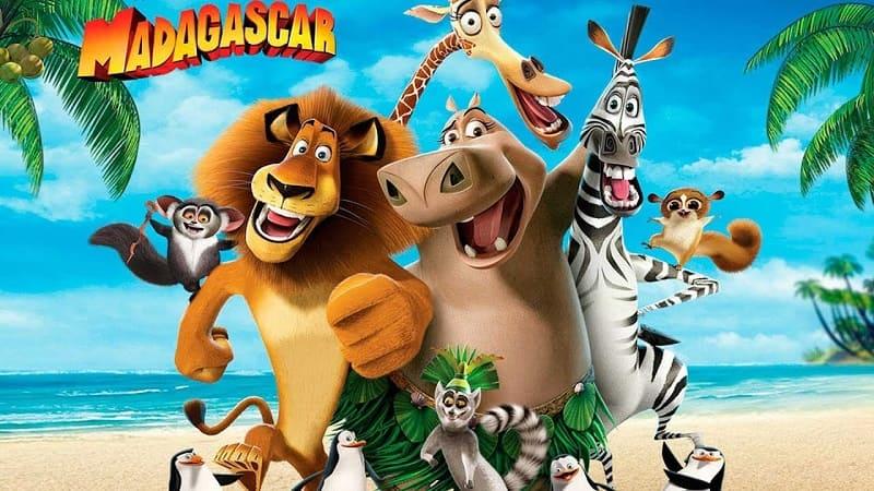 Мадагаскар 1, постер, дата выхода, кадры, трейлер