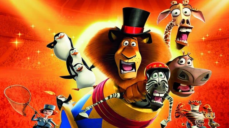 Постер Мадагаскар 3