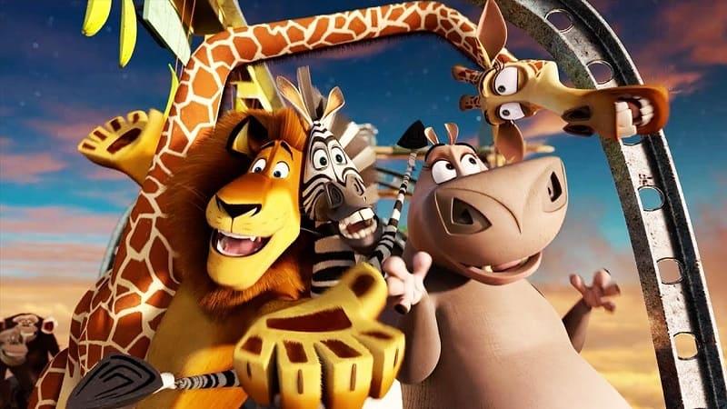 Постер Мадагаскар 4