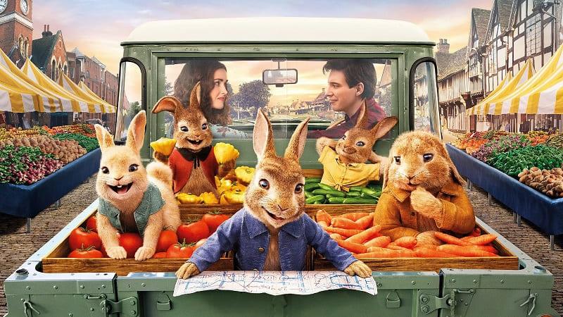 Постер Кролик Питер 2