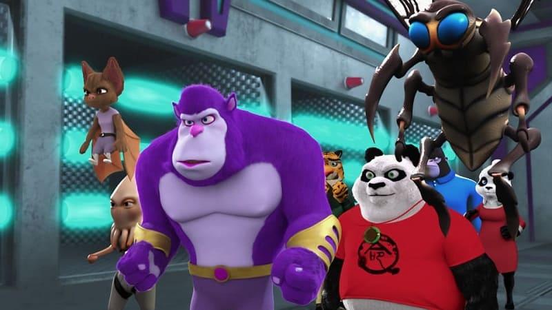 Постер Панда против пришельцев. План спасения Земли